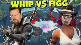 WHIPPIT vs FIGGEHN I FORTNITE *LEAKY LAKE* Playground