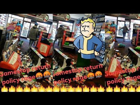 Respect Retail Workers - Dude Destroys A Gamestop Over Fallout 76