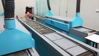 Automatic pvc production line, 3.4m production line with high production