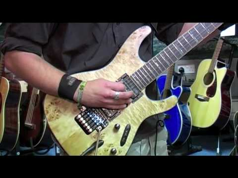 Ibanez S770PB-NTF Guitar Demo - Nevada Music UK