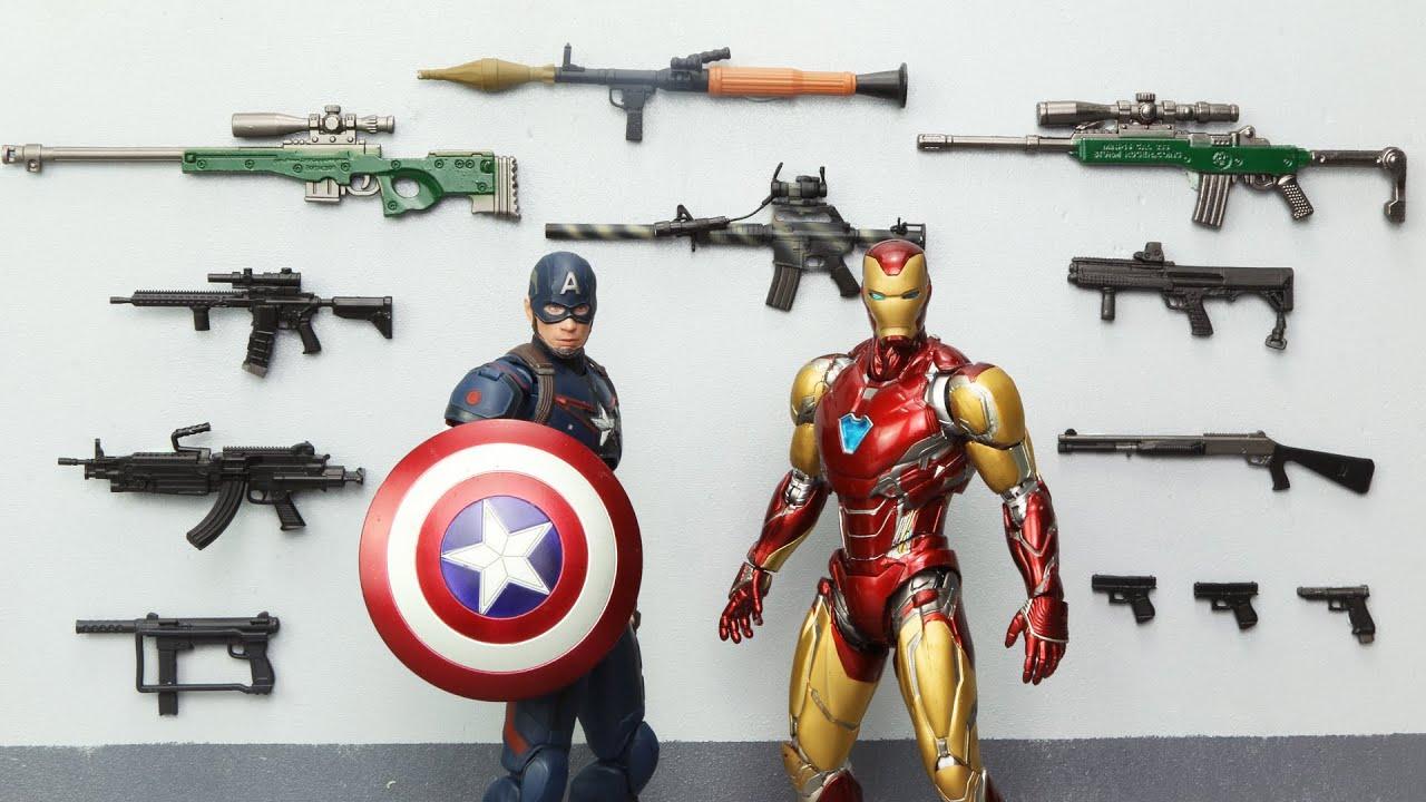 AVENGERS vs SUPERMAN Ressurection Official Trailer Figure Stopmotion