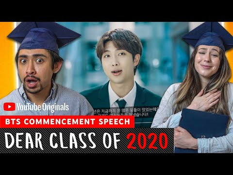 BTS Commencement Speech | Dear Class Of 2020 - FUNNY COUPLES REACTION!