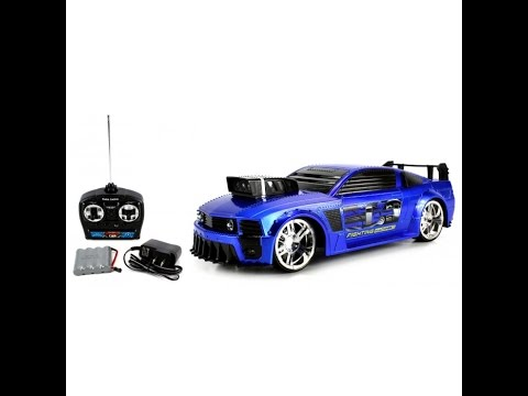 Fighting Machines Ford Mustang Remote Control RC Car Toy For Kids ...