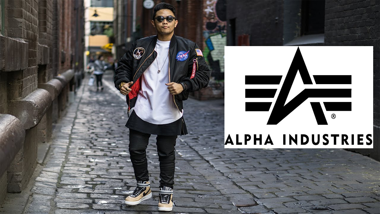 9f5544a558b Alpha Industries Flight Jacket Review - YouTube