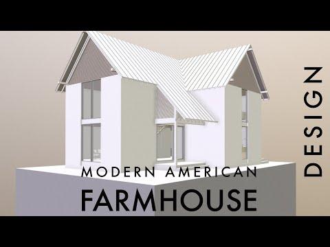 A Modern American Farmhouse Design
