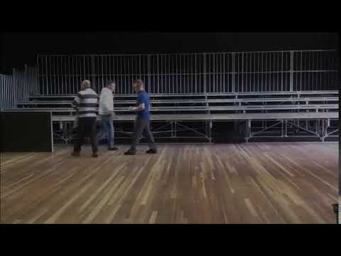 Jiro Stage Australia - Grand Seating Timelapse