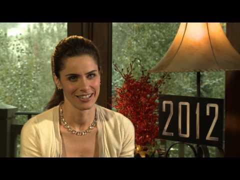 Amanda Peet interview for 2012 in HD
