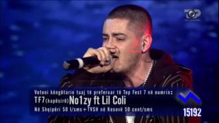 Noizy Ft Lil Coli - Wott's Up, 23 Prill 2010 - Top Fest 7 Gjysemfinale 2