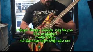 For The Love Of God - Steelianos cover (Ibanez DNA Vai signature model)