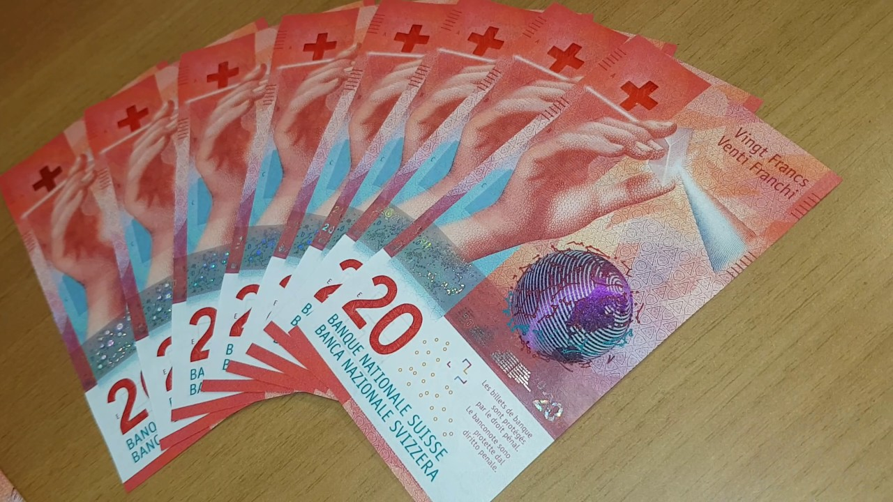 Brand New 20 Swiss Francs Now
