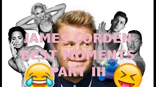 JAMES CORDEN || Best moments part 3