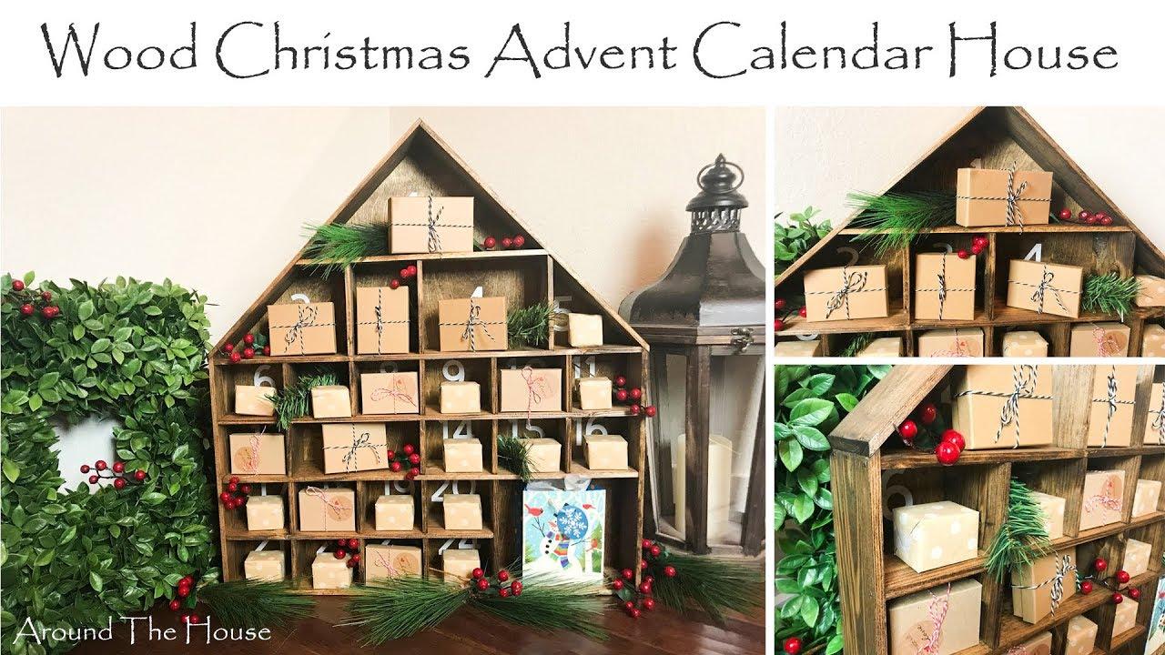 Diy Wood Christmas Advent Calendar