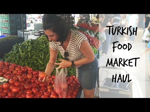 Turkish Food Pazar (Market) Haul | MERSIN, TURKEY