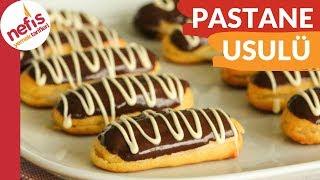 Pastanelerde Satılanlardan Daha Lezzetli, Az Ölçü İle 50 adet tam Kıvamında EKLER TARİFİ