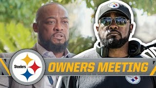 Steelers Coach Tomlin on Roster Changes, New Coaches | NFL Owners Meeting