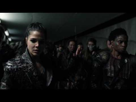 The 100 4x12 Kane and Jaha gas the room