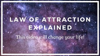 Law Of Attraction Motivation - THIS VIDEO WILL CHANGE YOUR LIFE