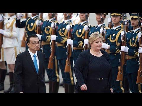 China-Norway free trade talks resume as PMs meet in Beijing