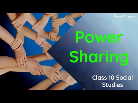 Civics Power Sharing: CBSE Class 10 X | Social Studies | Video Lecture