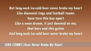 Luke Combs - Beer Never Broke My Heart mp3