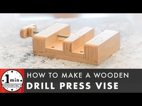 Homemade Drill Press Vise