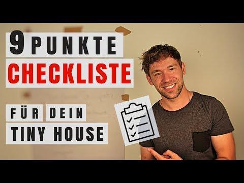 9 ToDo´s zum eigenen Tiny House ➤ TINY House CHECKLISTE! | Tiny House Deutschland