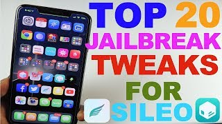 Top 20 iOS 12 Jailbreak Tweak That Work With Sileo