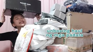 UNBOXING HAUL NG MGA PADALA (HAPPY 1.5M!) | Faye Balbacal