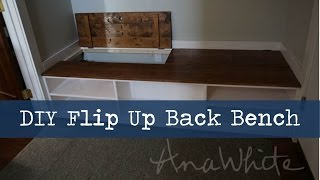 Diy Mudroom Bench With Hidden Boot Storage