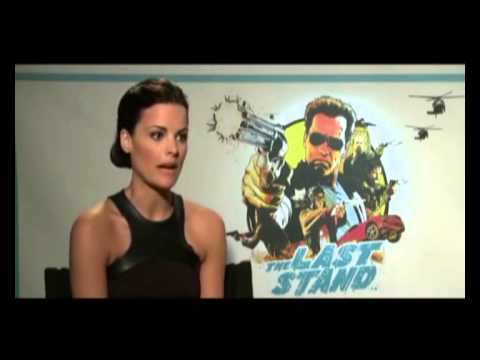 The Last Stand (2013) Jaimie Alexander interview