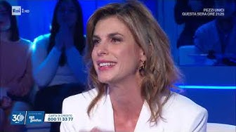 Elisabetta Canalis - Domenica In 15/12/2019