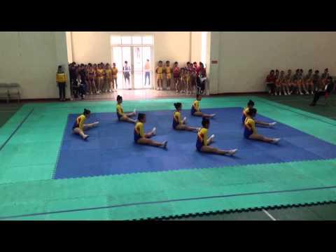 Y.aerobic 8 người thcs huyện Thanh Trì 18/3/2014