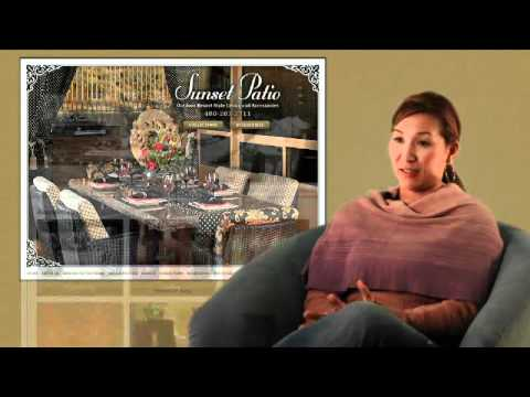 Arizona Web Development - Sunset Patios Web Development Testimonial for Vuria