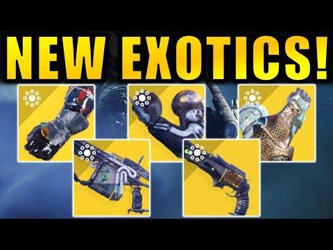 Destiny 2: NEW EXOTICS!   Season of the Drifter (Joker's Wild)