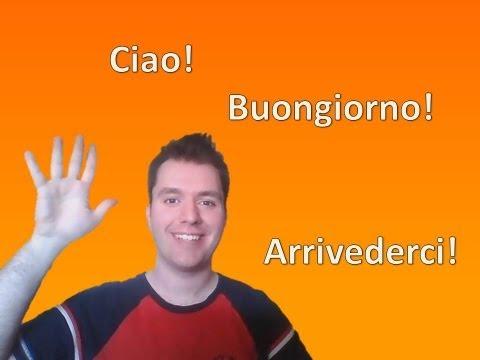 Apprendre l'italien - Leçon 1 (partie 2) /// Se présenter, les nombres