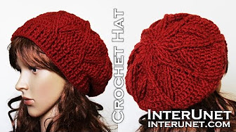 Hats - crochet and knitting patterns - YouTube 9ba2706d4a3