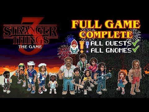 Stranger Things 3 The Game (FULL Game/Complete Walkthrough)