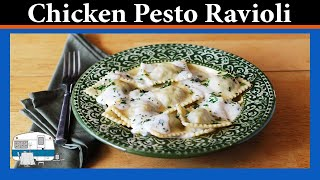 How to Make Chicken Pesto Ravioli