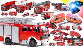 Feuerwehr Autos - Fire Department Car Collection 🚒