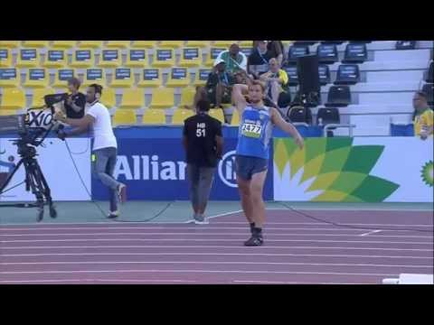 Men's javelin F38 | final |  2015 IPC Athletics World Championships Doha