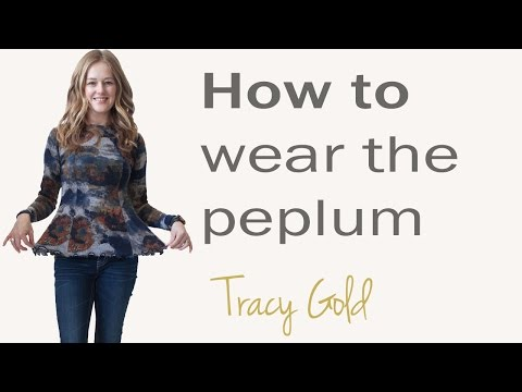 How To Wear The Peplum