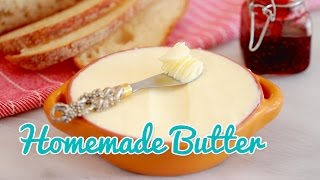 How to Make Homemade Butter - Gemma's Bold Baking Basics Ep 19