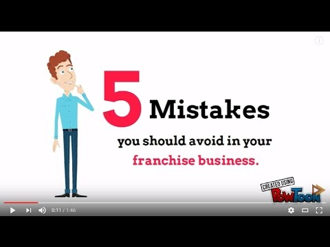 5 Mistakes You Must Avoid in Franchising