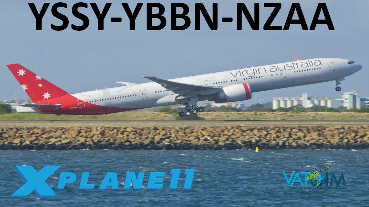 X-Plane 11 | Heavies Down Under!! | B787 B777 | VATSIM
