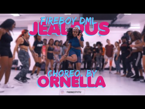 Jealous - YBNL x Fire Boy | Choreography by Ornella Nella