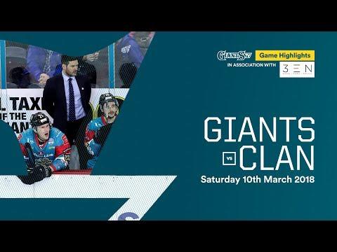 Stena Line Belfast Giants v Braehead Clan Highlights