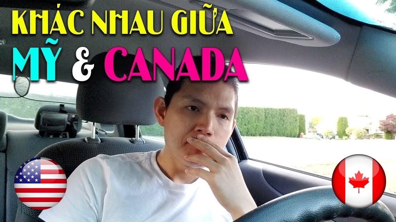 Điểm khác nhau giữa Mỹ & Canada: Giá cả, Bảo hiểm, Khí hậu, Môi trường, Nhập cư | Quang Lê TV #67
