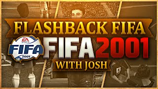 THIS GAME IS A PIXEL! With Josh - FLASHBACK FIFA 2001