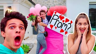 Download I ASKED MY CRUSH TO PROM! ft. Lexi Rivera! Mp3 and Videos