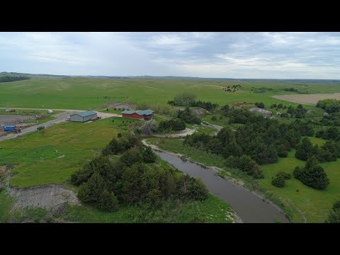 Nebraska Land For Sale | South Loup River Home and Grass | Callaway, NE